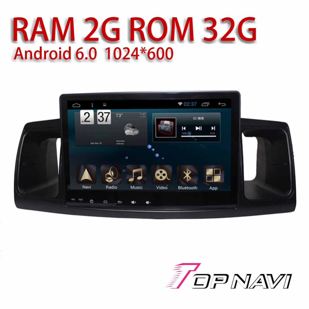 Auto Media for Toyota COROLLA EX 2013- Android 6.0 9 Topnavi Vehicle GPS Navigation Automotive Free Map Update Amplifier