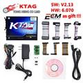 Free Shipping KTAG 2.13 no token limited free ECM Titanium software ECU Programming Tool K tag FW 6.070 K-TAG ktag v2.13