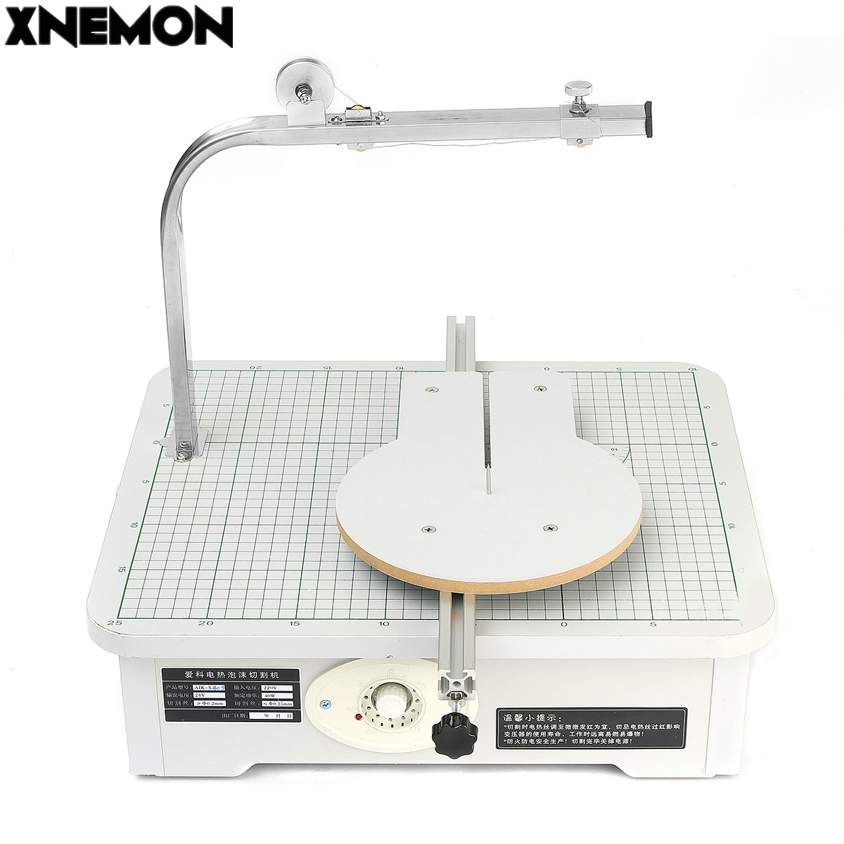 XNEMON 220V Board WAX Foam, Sponge, Pearl Cotton, Cutting Machine S403 Working Stand Table Tool Styrofoam Cutter CUTS FOAM KT craft hot knife styrofoam cutter 1pc 10cm pen cuts foam kt board wax cutting machine electronic voltage transformer adaptor