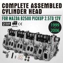 Ford/Mazda Bongo B2500 Friendee Frieda 2.5TD WL головка цилиндра двигателя Встроенный Топ