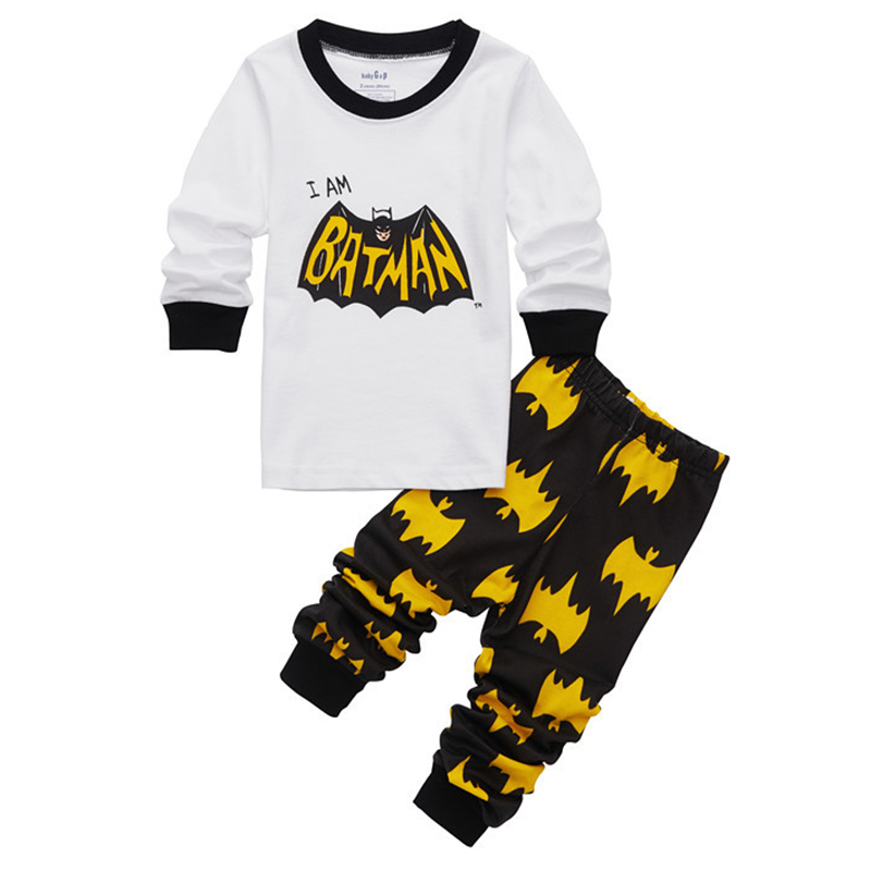 Batman Infant Clothing Newborn Pajamas Baby Boy Sleepers Tiny Cottons Outfit Toddler Pants Baby Tops Halloween Cosplay Costume