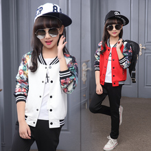 2018 new Spring children girls sports clothing sets autumn clothes flower print t shirt + pants girls  kids 2 pcs suit for 3-14Y new 2017 spring autumn kids girls sports suit tiger print girls set long sleeve top