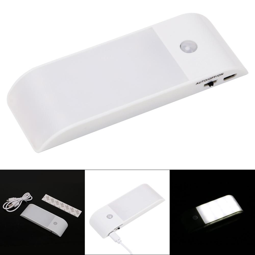 USB Aufladbare IR Nacht Licht mit Motion Sensor Wireless 12LED Wand ...