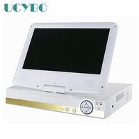 8CH AHD DVR For 720P 960P 1080P AHD 960H IP CCTV Camera 10 Lcd Screen Monitor
