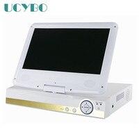 8ch AHD DVR для 720 P 960 P 1080 P AHD 960 H IP CCTV Камера 10 ЖК экран монитор Onvif IP NVR видеорегистратор сети видеонаблюдения