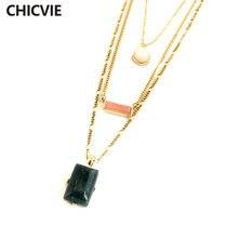 Многослойные ожерелья и кулоны в стиле бохо нагрудник с кристаллами