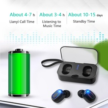 TiYiViRi TWS Mini Wireless Bluetooth In-Ear Earphone Stereo Headset Earbud Waterproof with Charging Box for Huawei Mate 20 P30 цена