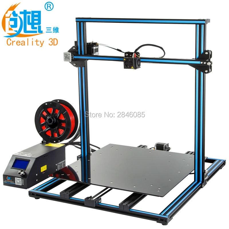 Budget 3D Drucker Creality CR 10S 10 Optional, dua Z Stange Filament ...