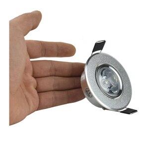 Image 3 - Mini spot lumineux Led encastrable, avec pilote, 1/3W, haute puissance, ac 85/260v, 110 330lm, 4 unités par lot, haute qualité
