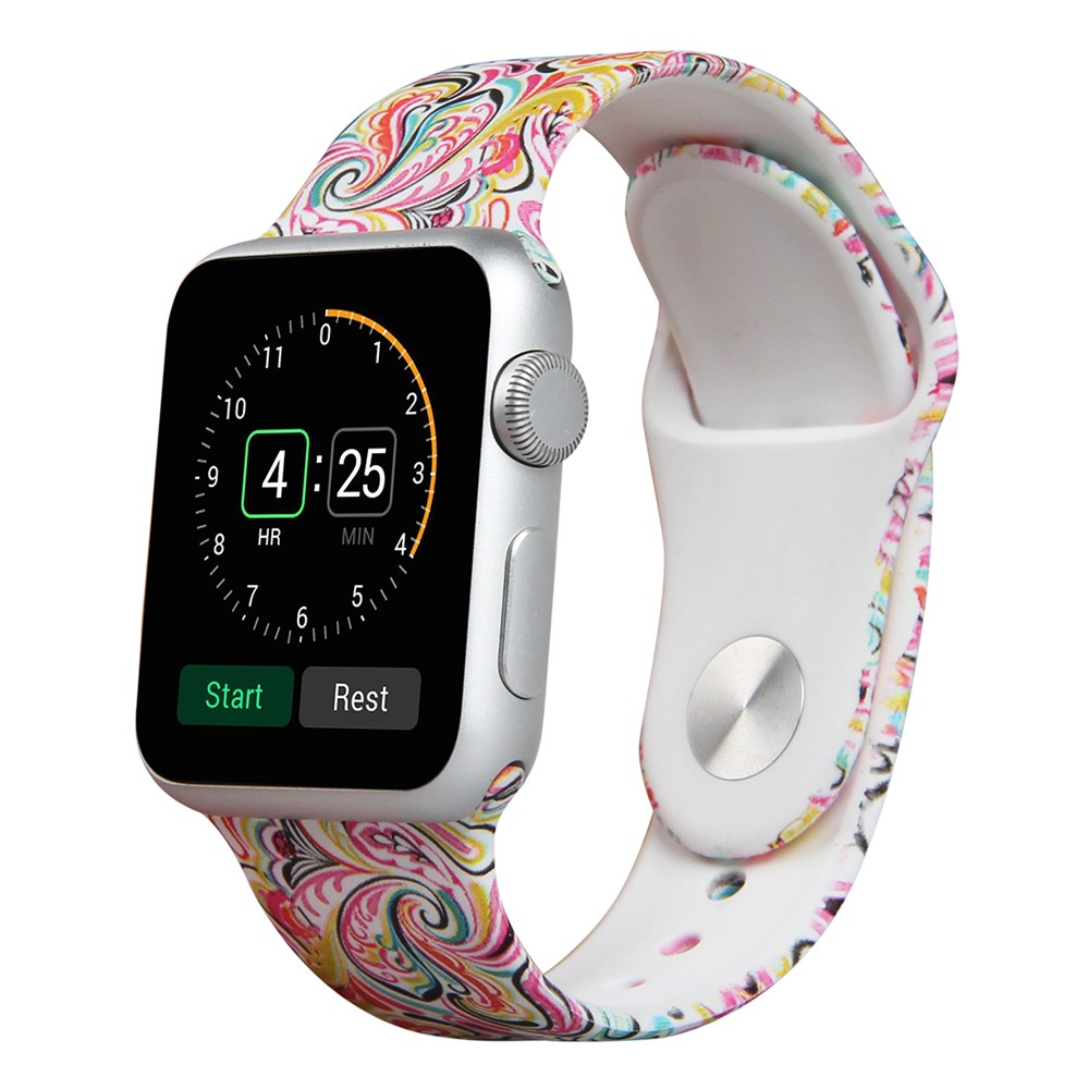 2017 Newest Rubber Silicon Watch Band Strap For Apple Watch Band  Replacement Strap For Apple Watch Bands 38mm 42mm