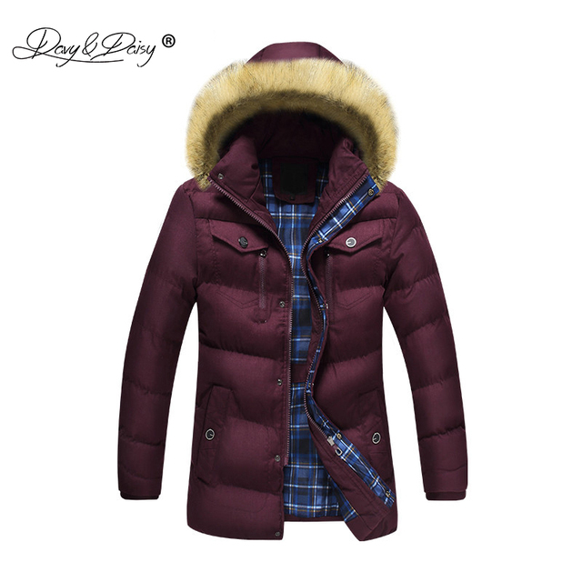Nuovo Inverno Cappello Staccabile Uomo Caldo Davydaisy Parka Moda 1Fq7Sfw