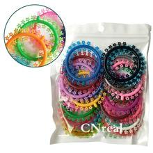 1 сумка Зубна еластична Ортодонтична лігатура Стрижки Цветочный асорті Колір Усні догляду 1000 стр