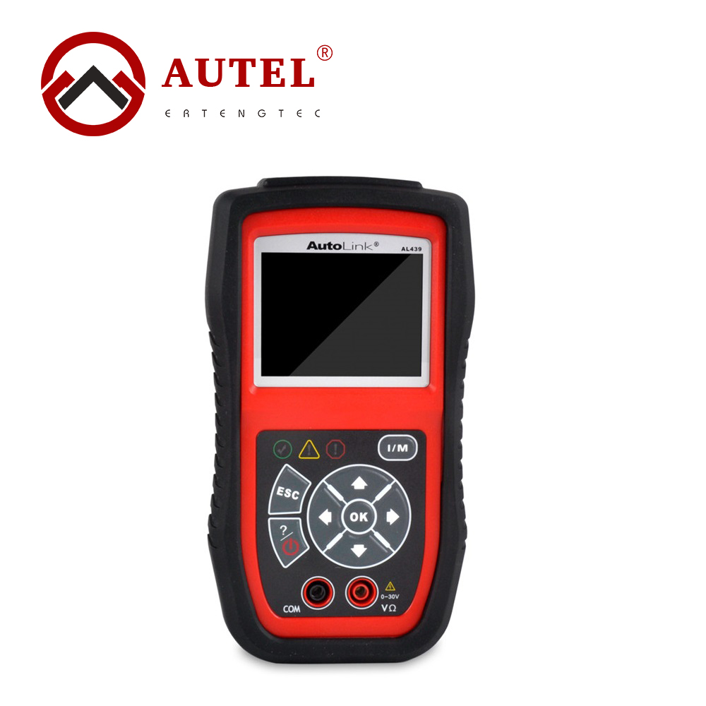 цены  Autel Autolink AL439 OBD2 OBDII Auto MultiMeter AVOMeter Scanner Diagnostic Engine Code Scanner Electrical Test