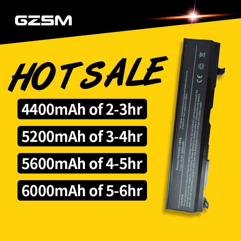 HSW 5200mAh Battery For Toshiba Equium Satellite A100 M50 PA3399U PA3399U-2BRS PA3399U-1BAS PA3399U-1BRS PA3399U-2BAS Battery
