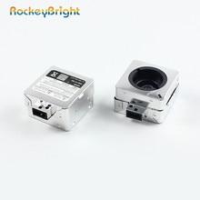 Rockeybright D1S адаптер для разрядной лампы высокой интенсивности ксеноновые лампы воспламенитель автомобиль держатель лампы D2S ксеноновые лампы розетки адаптер базы для газоразрядных фар