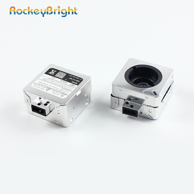 Rockeybright D1S hid bulb adapter xenon head lamp ignitor Car bulb holder D2S xenon bulbs socket adaptor base for hid headlight