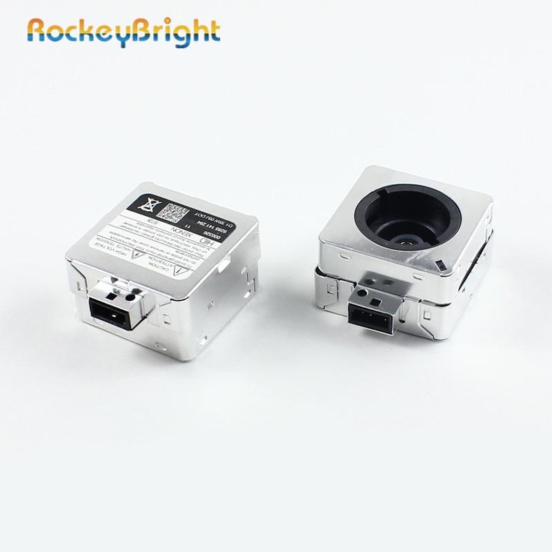 Rockeybright D1S HID-Lampenadapter Xenon-Scheinwerfer-Zündgerät KFZ-Lampenfassung D2S Xenon-Lampenfassung Adapter-Sockel für HID-Scheinwerfer