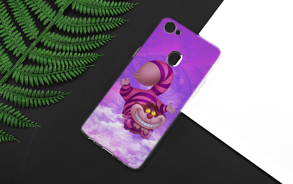 Cheshire Cat Totoro My Neighbor Anime Silicone Clear Soft Transparent Case Cover Shell For Oppo F5 Youth F7 F9 Pro A7X F9pro A73