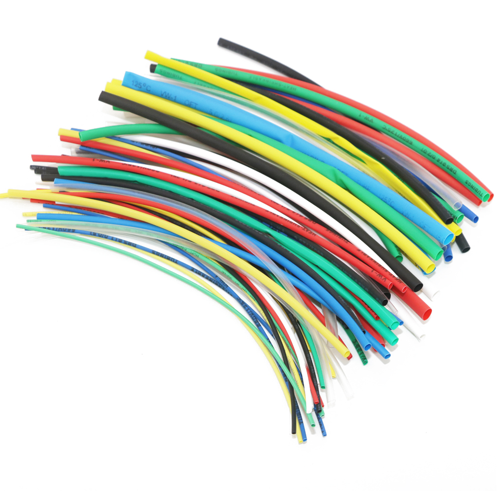 70Pcs Multicolor Heat Shrink Tubing Tube Cable Sleeves Wrap Wire Set For Rc DIY Drone