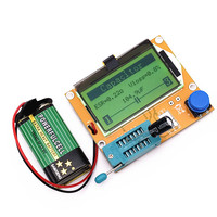 New 2016 12864 LCD Transistor Tester Capacitance ESR Meter Diode Triode MOS NPN LCR Mega328