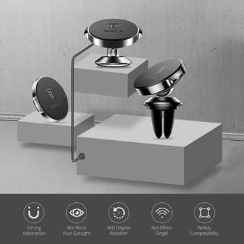 Baseus Magnetic Car Holder For Phone Universal Holder Mobile Cell Phone Holder Stand For Car Air Vent Mount GPS Car Phone Holder 1