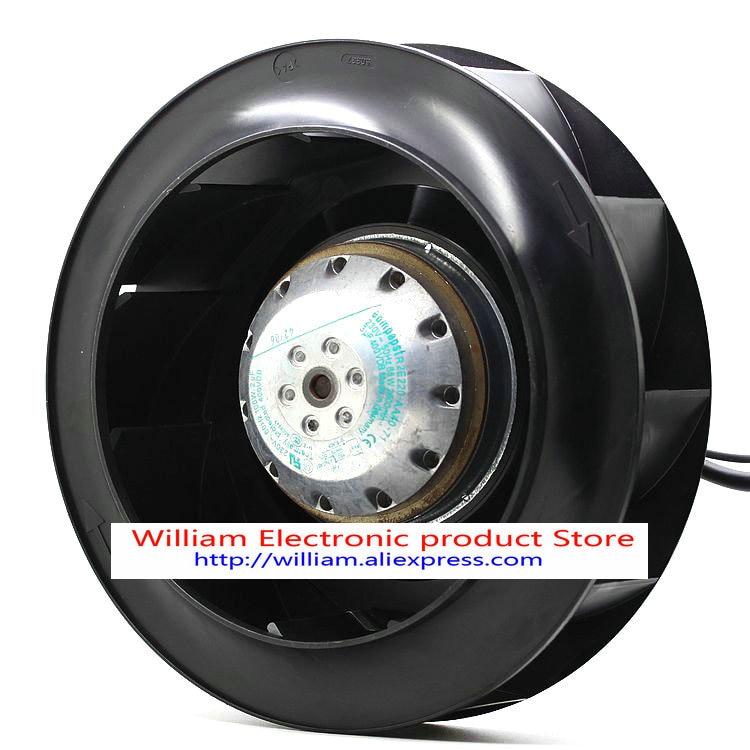Original ebmpapst R2E220-AA40-71 220V 85W backward curved centrifugal fan brand new original converter fan r2e220 aa44 23 220 71 115v centrifugal fan page 5