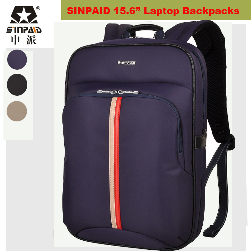 ФОТО NEW Arrival Laptop Backpack Waterproof Men's Back Pack 15.6 Inch Notebook Mochila High Quality Designer Backpacks Male Escolar