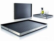 High grade rectangle stainless steel fashion Eva solo server tray fruit tray food plates tea dish