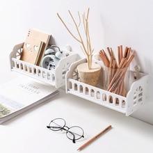 купить Creative DIY carved wooden  storage rack wall shelf home room decor дешево