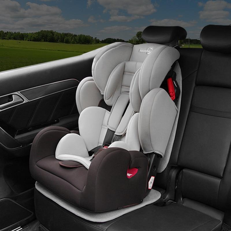 Car Fold Seat Mat Baby Children Safety Seat Cushion Protector Pocket Anti-slip Car Seat Accessories