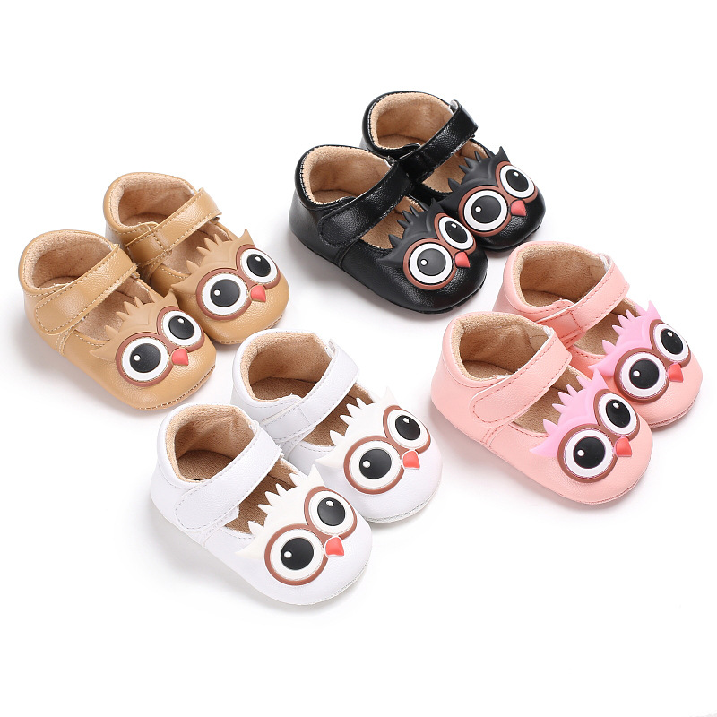 3-18 months baby spring summer owl soft non-slip shoes / female baby fashion