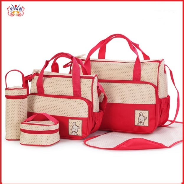 2017 Comer Top Brand Baby Diaper Bag Fashion Mother Suits For Mom Baby Bottle Nappy Bags Sets Holder Mummy Stroller Maternity