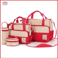 2017 Comer Top Brand Baby Diaper Bag Fashion Mother Suits For Mom Baby Bottle Nappy Bags