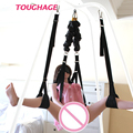 Toughage Elastic Bungee Rope Sex Swing Adult Products Chair Bed Furniture