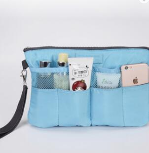Ladies Hang Up Travel Toiletry Wash Bag With Compartments
