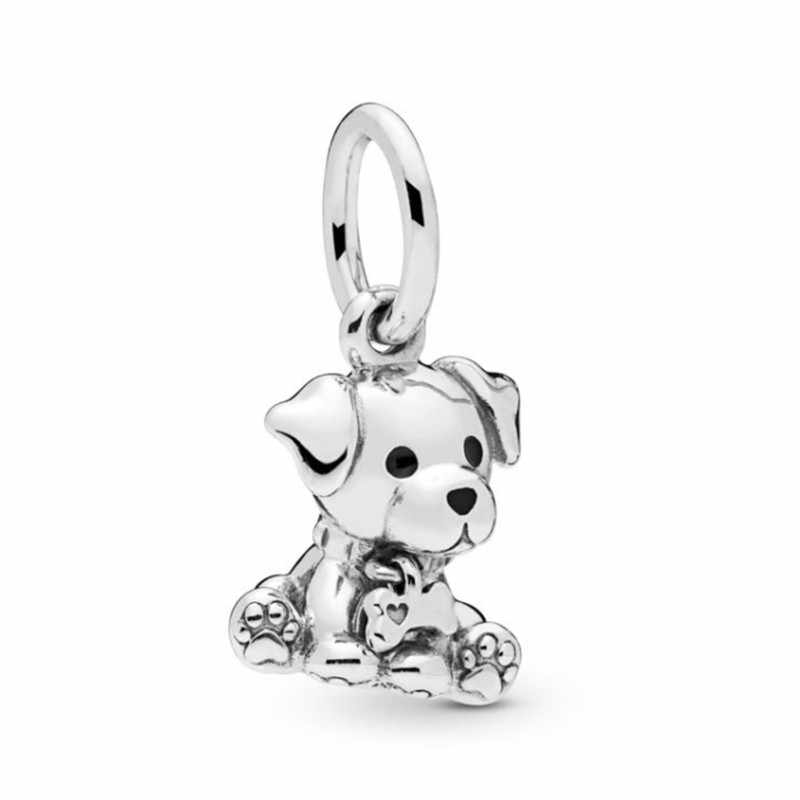 Ranqin 2019 ใหม่ Elegant ของขวัญ Pandora สร้อยข้อมือสร้อยคอ DIY Charms บุคลิกภาพลูกปัดเดิมสุนัข Punk ร่มหมี