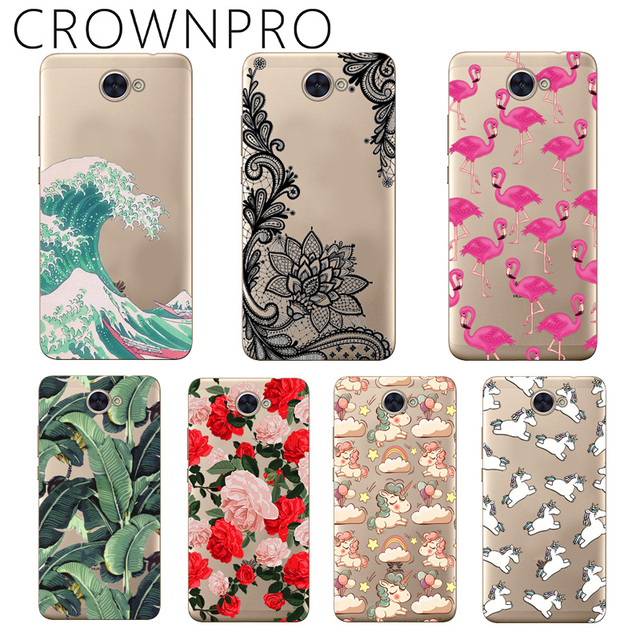 US $0 79 21% OFF CROWNPRO Huawei Y7 Case Cover Silicone Huawei Y7 2018 Case  Soft TPU Huawei Y7 Prime / Pro 2018 Case Back Case Huawei Y7 2017-in