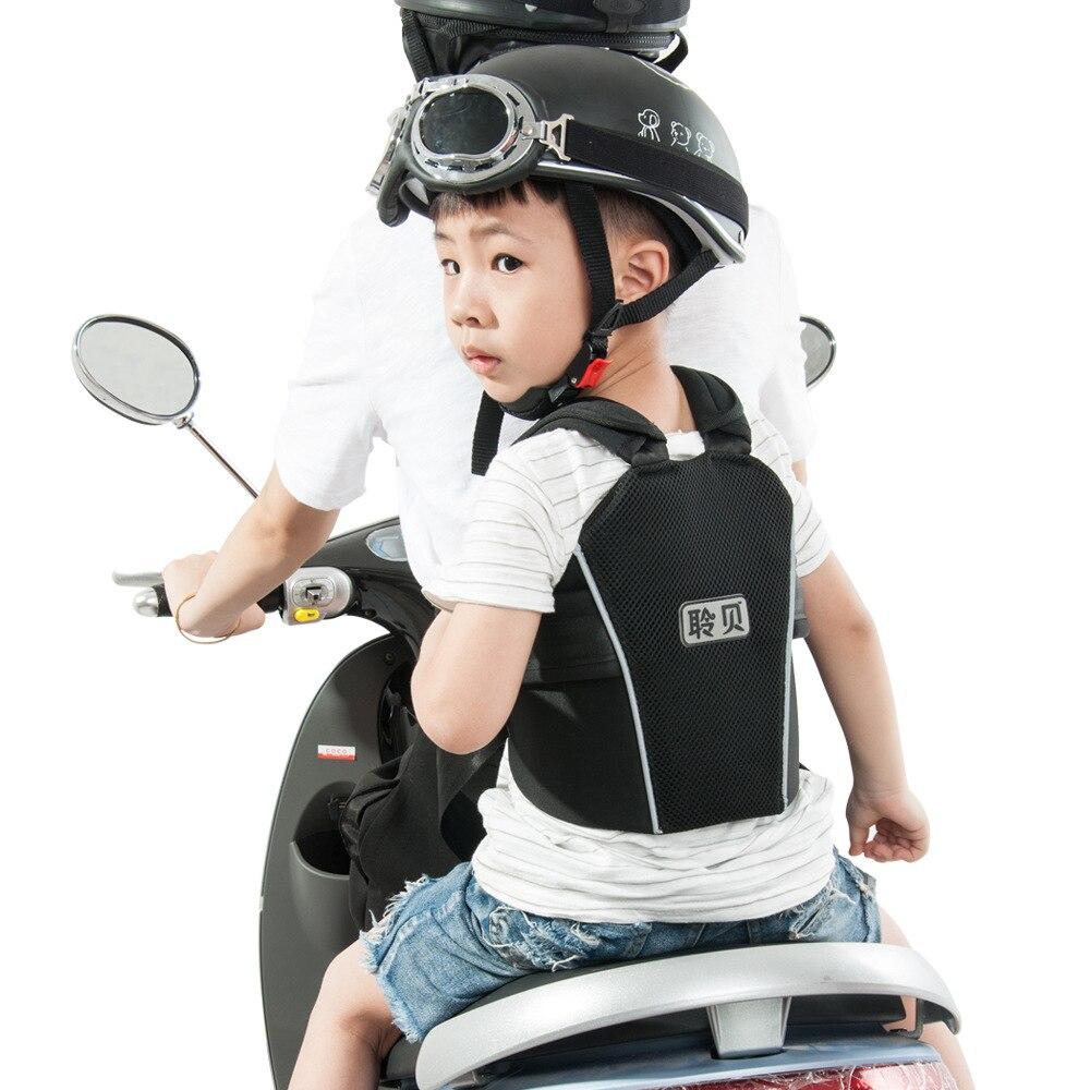 Réglable Enfants Transporteur Moto Enfant Ceinture Électrique Moto Sécurité Ceinture Durable Porte-Bébé Harnais pour Voyage D'équitation