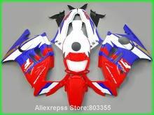 Motorcycle kits for HONDA CBR600 f3 96 95 cbr 600 ( blue red white Fairings ) fairing kit 1995 1996 xl103