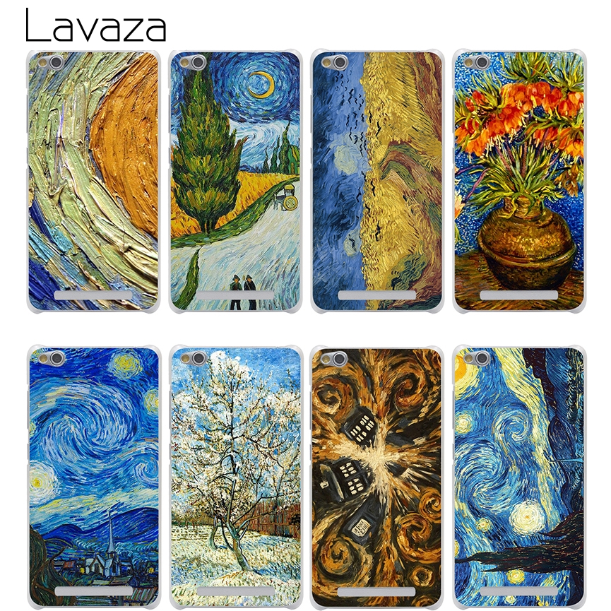 Lavaza Van Gogh Tardis Abdeckung Fall für Xiaomi Redmi Hinweis Mi 3...
