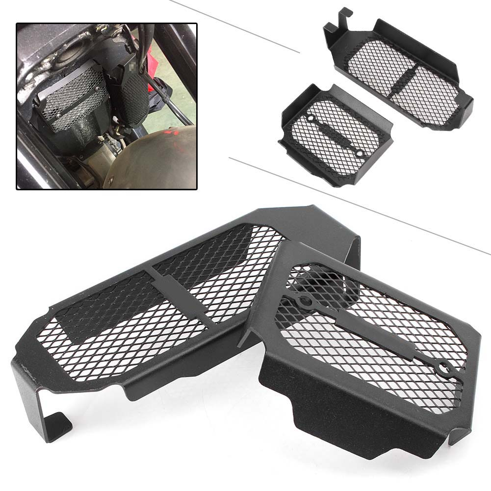 Radiator Grill Cover Protector Guard Grille Bracket Kit For DUCATI Scrambler 2015 2016 Motorcycle Accessory Parts