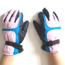 Outdoor winter sports ski riding breathable waterproof wind cold thick warm adult men and women gloves