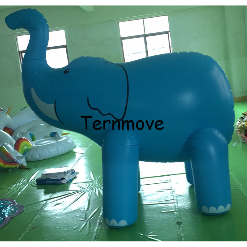 inflatable elephant shape model PVC advertising Promotion Helium Balloone inflatable animal cartoon character for decoration