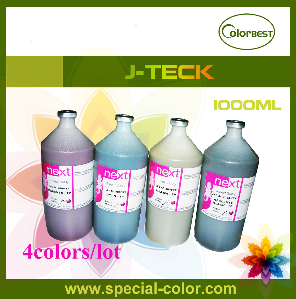 CMYK Transfering Ink J-next Water Based Ink for Epson DX7 Printhead dx7