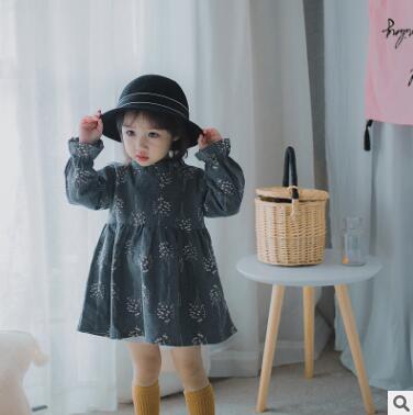 Лидер продаж 2017 года Платье для маленьких девочек брендовые летние платье принцессы Одежда для девочек принцесса маленькая Цветочное плат...