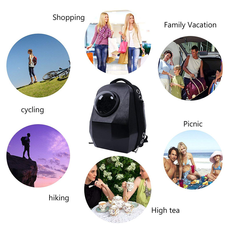 8d4a9104499 Promotion Price Diamond Cut Carrying Bag For Dog Cat Puppy Space Pet Bubble  Backpack Travle Astronaut Flight Outdoor Transport-in Carriers & Strollers  from ...