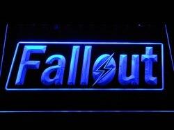 E088 Fallout светодио дный бар светодиодный неоновый знак с включения/выключения 20 + цвета 5 размеров на выбор