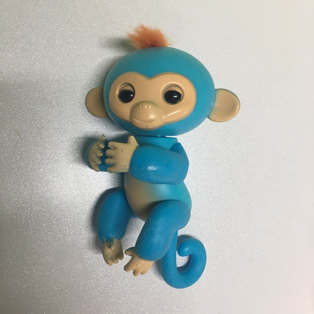 finger monkey half-intelligent electronic pets toys finger baby monkey Attention no full function without box