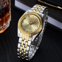 2019 New Luxury Brand Women Gold and Silver Elegant Casual Quartz Watch Stainless Steel Dress Watches Relogio Feminino Hot