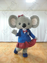 popular pupil koala costumes hot sale female cartoon coala mascot costumes